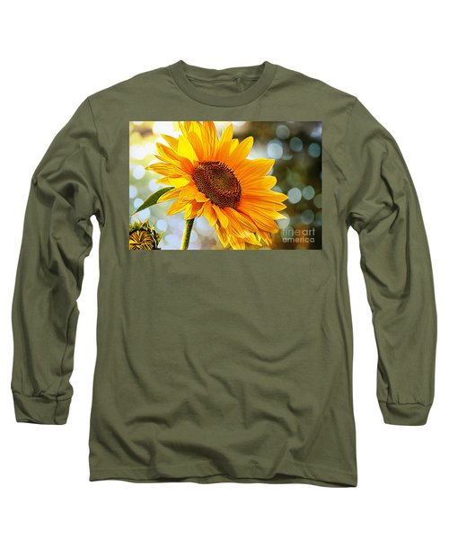 Radiant Yellow Sunflower Long Sleeve T-Shirt