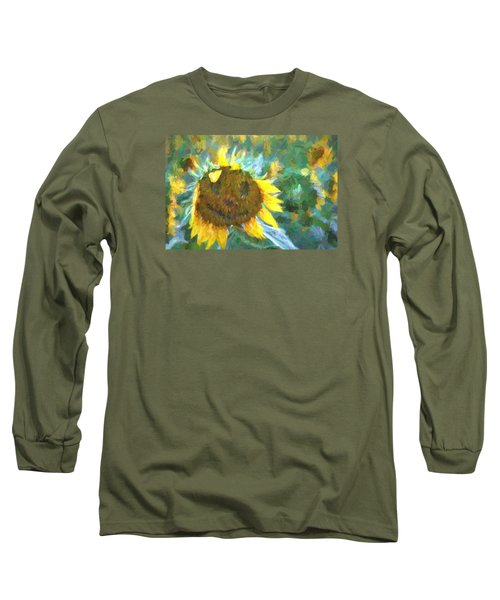 Rag A Muffin Painting Long Sleeve T-Shirt