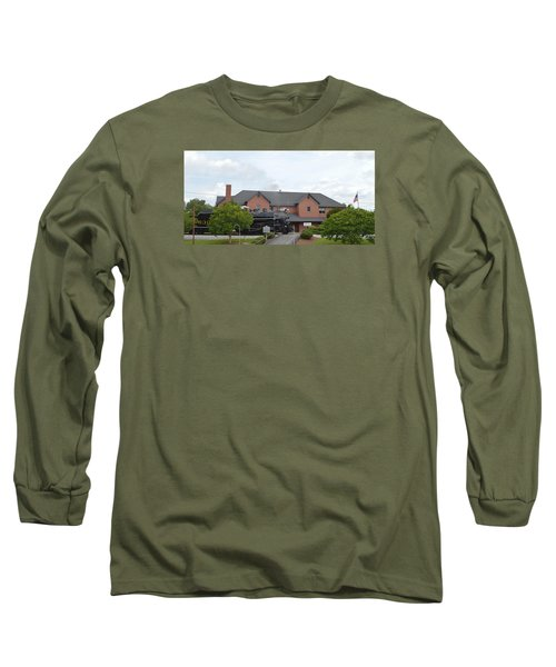 Railroad Depot Long Sleeve T-Shirt