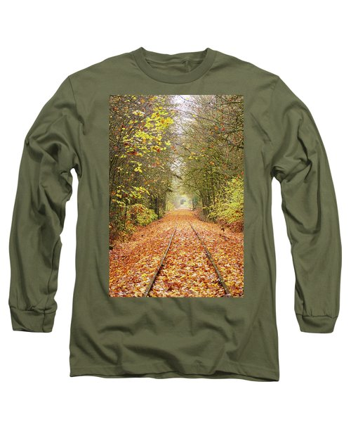 Railroad Tracks Long Sleeve T-Shirt