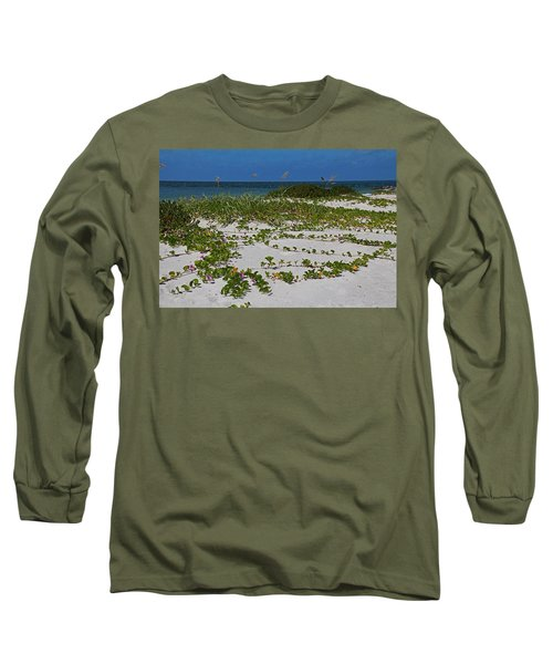 Railroad Vines On Boca IIi Long Sleeve T-Shirt