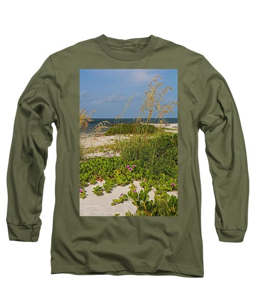 Railroad Vines On Boca Iv Long Sleeve T-Shirt