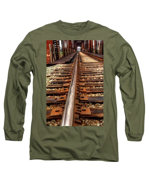 Railway Long Sleeve T-Shirt by Ester Rogers