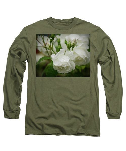 Rain Drops In Our Garden Long Sleeve T-Shirt