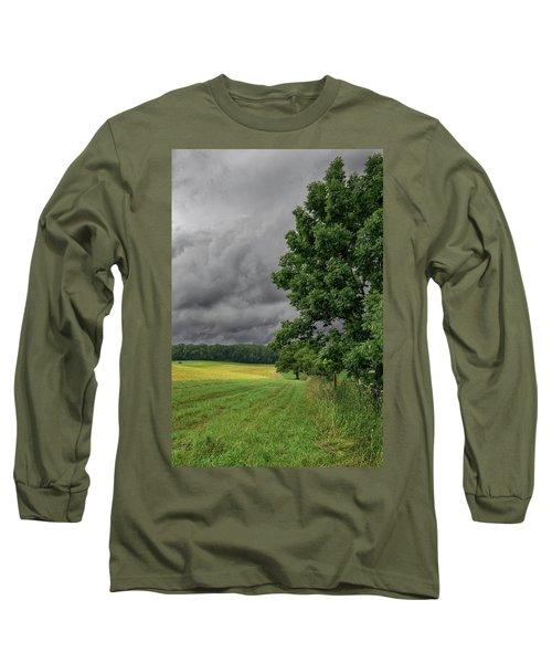 Rain Is Coming Long Sleeve T-Shirt
