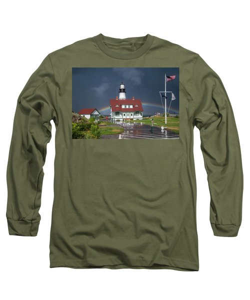 Rainbow After The Storm Long Sleeve T-Shirt