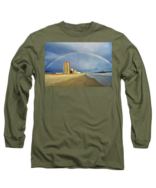 Rainbow Beach Long Sleeve T-Shirt