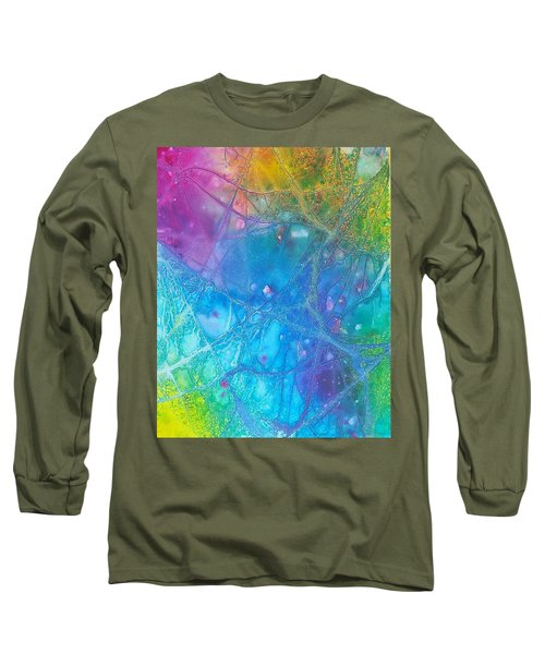 Rainbow Long Sleeve T-Shirt by Artists With Autism Inc