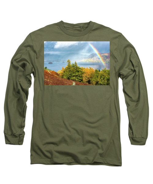 Rainbow Gold Long Sleeve T-Shirt
