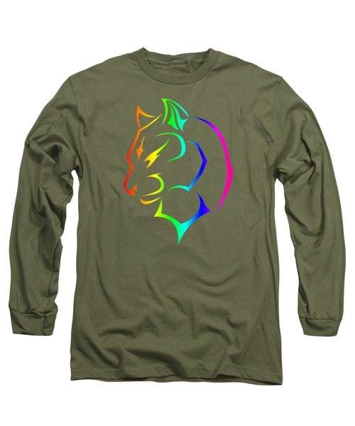 Rainbow Panther Long Sleeve T-Shirt