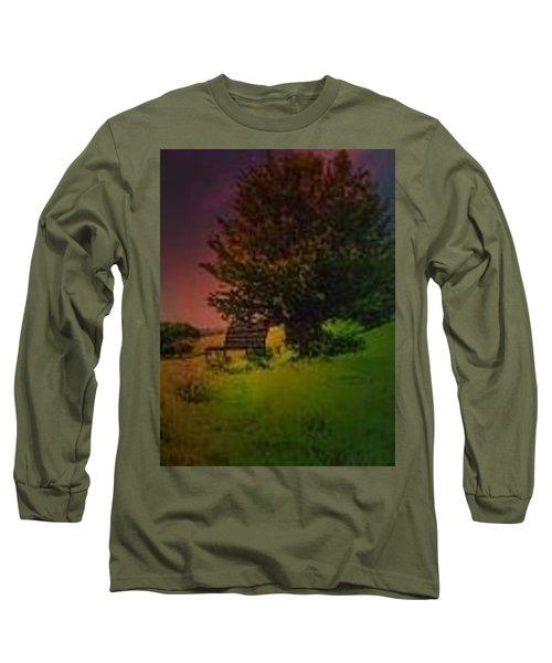 Rainbow Sunset Long Sleeve T-Shirt