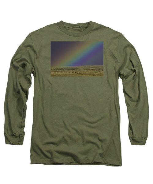 Rainbows End Long Sleeve T-Shirt by Elizabeth Eldridge