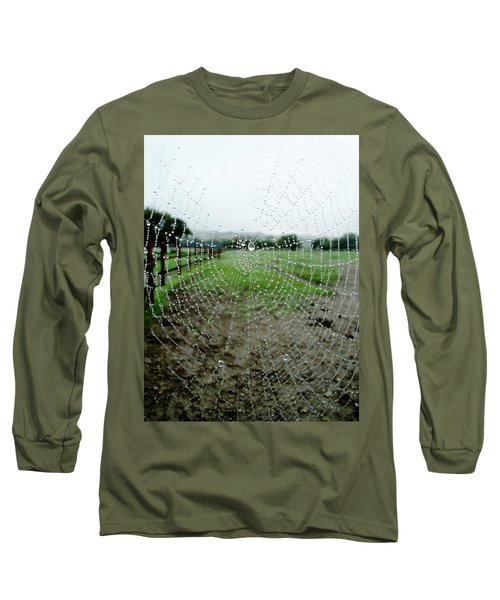 Raincatcher Web Long Sleeve T-Shirt