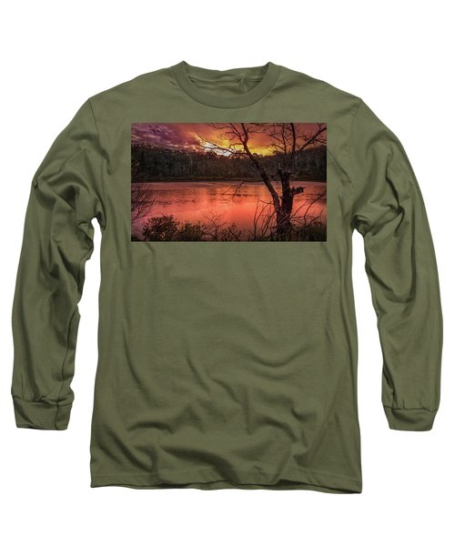 Raindrops On Nullica Long Sleeve T-Shirt