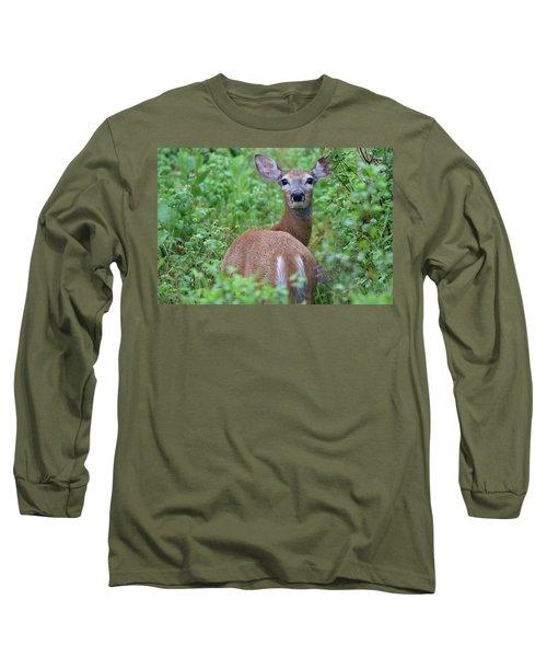 Rainy Day Doe Long Sleeve T-Shirt