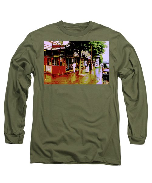 Rainy Day In Paris Long Sleeve T-Shirt