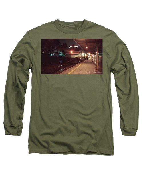 Rainy New Year's Eve Long Sleeve T-Shirt