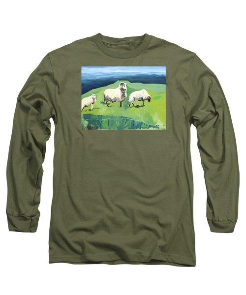 Ram On A Hill Long Sleeve T-Shirt