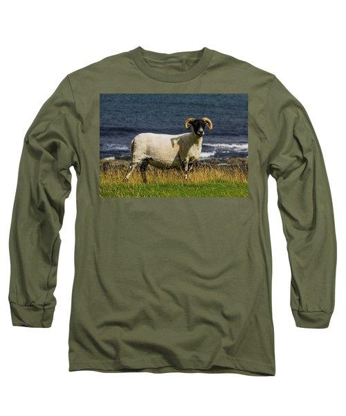 Ram With Attitude Long Sleeve T-Shirt