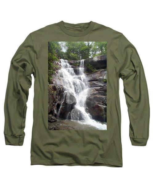 Ramsay Cascade Smoky Mountains National Park Long Sleeve T-Shirt