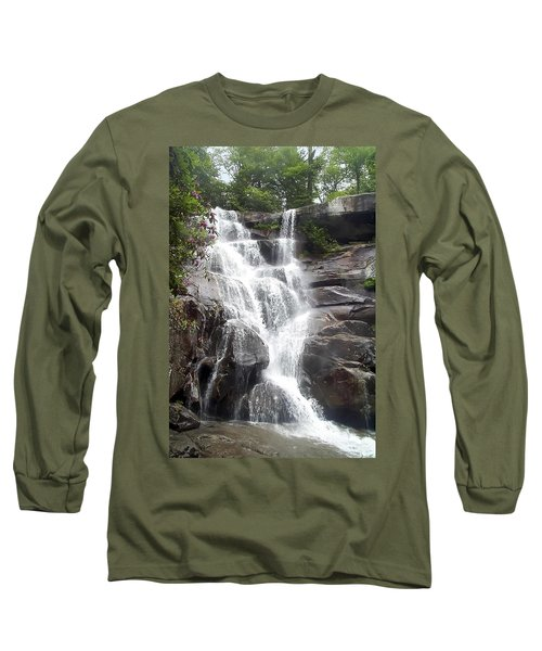 Ramsay Cascade Smoky Mountains National Park Long Sleeve T-Shirt