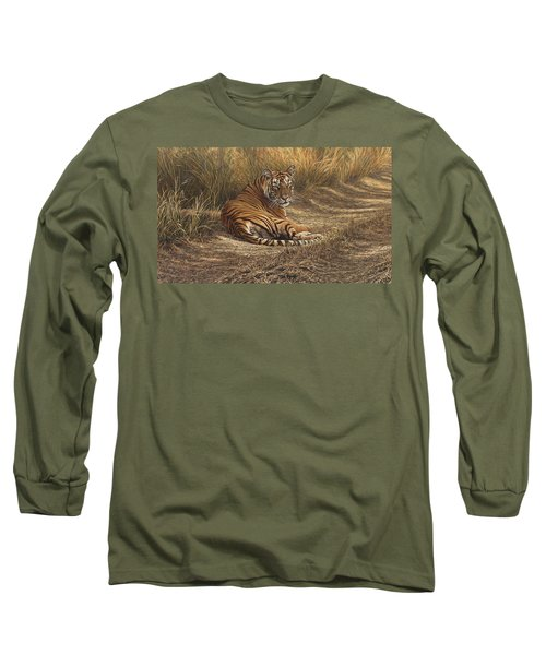 Ranthambore Roadblock Long Sleeve T-Shirt