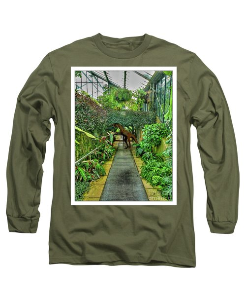 Raptor Seen In Kew Gardens Long Sleeve T-Shirt