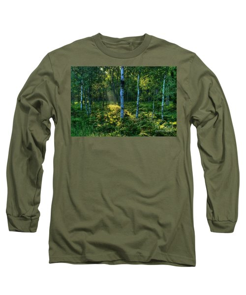 Rays In The Forest Long Sleeve T-Shirt