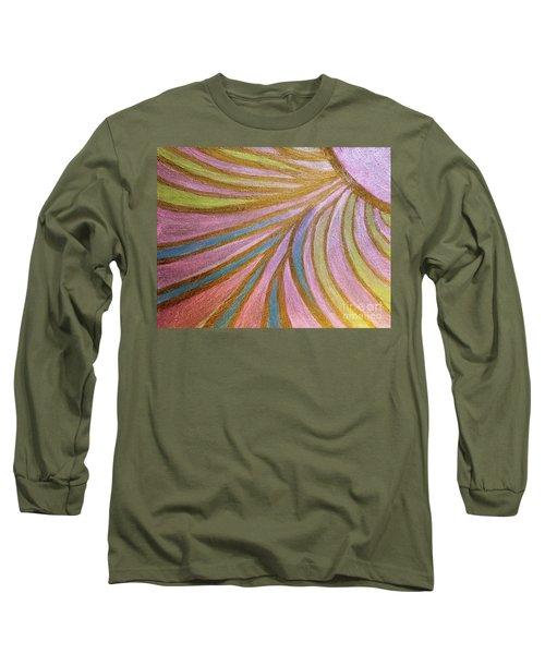 Rays Of Hope Long Sleeve T-Shirt by Rachel Hannah