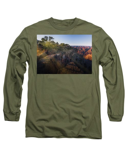 Rays Over The Canyon  Long Sleeve T-Shirt