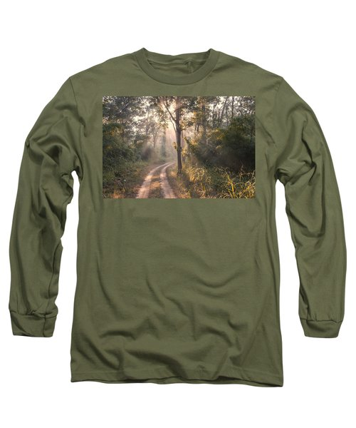 Rays Through Jungle Long Sleeve T-Shirt