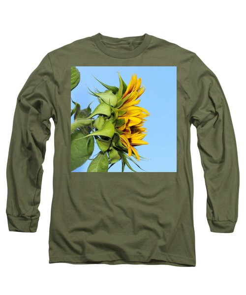 Reaching Sunflower Long Sleeve T-Shirt