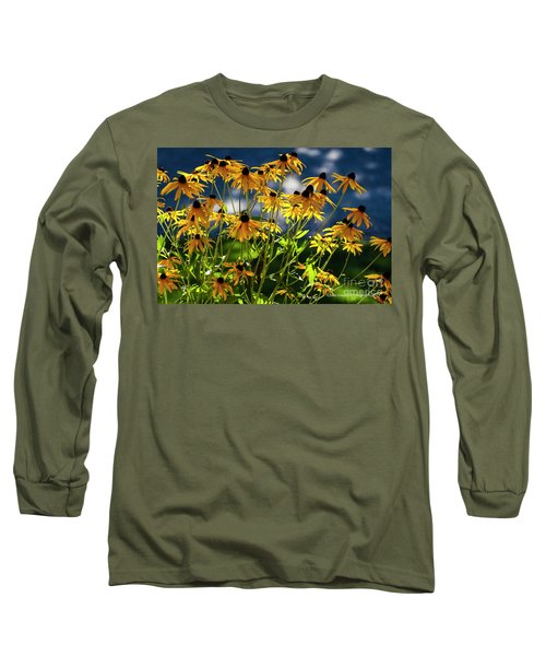 Reaching For The Blue Sky Long Sleeve T-Shirt