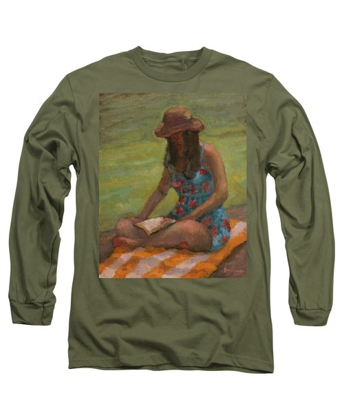 Reading At Jersey Valley Long Sleeve T-Shirt