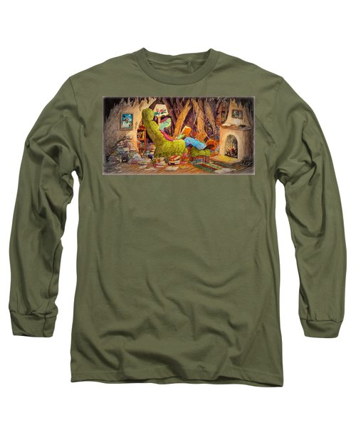 Reading Is Magic Pg 1 Long Sleeve T-Shirt by Matt Konar