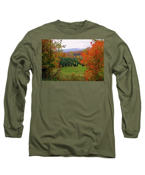 Ready For Christmas Long Sleeve T-Shirt by Dale R Carlson