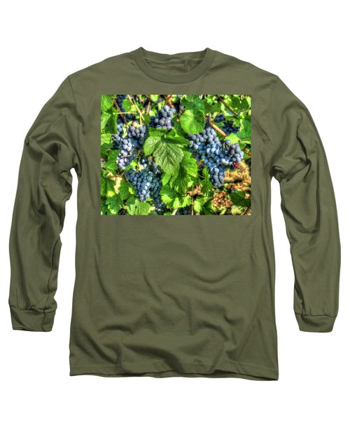 Long Sleeve T-Shirt featuring the photograph Ready For Harvest by Alan Toepfer