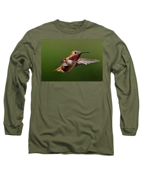 Ready Long Sleeve T-Shirt by Sheldon Bilsker