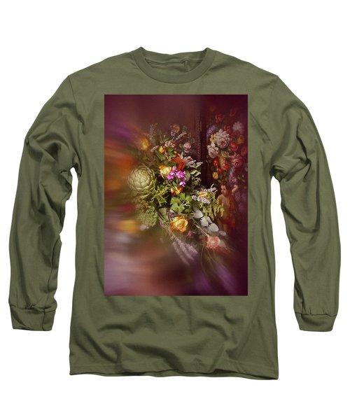 Long Sleeve T-Shirt featuring the photograph Floral Arrangement No. 1 by Richard Cummings