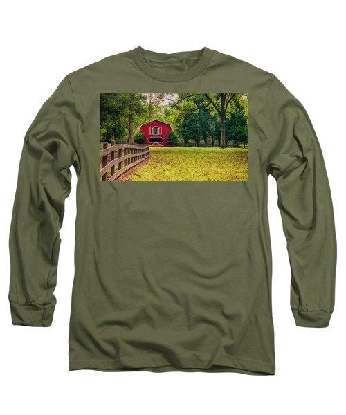 Red Barn 2 Long Sleeve T-Shirt