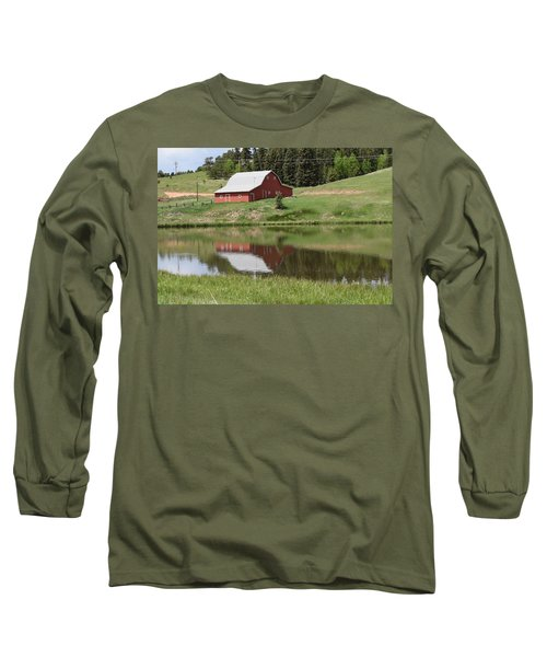 Red Barn Burgess Res Divide Co Long Sleeve T-Shirt