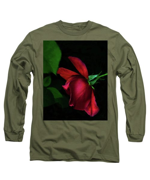 Red Beauty Long Sleeve T-Shirt