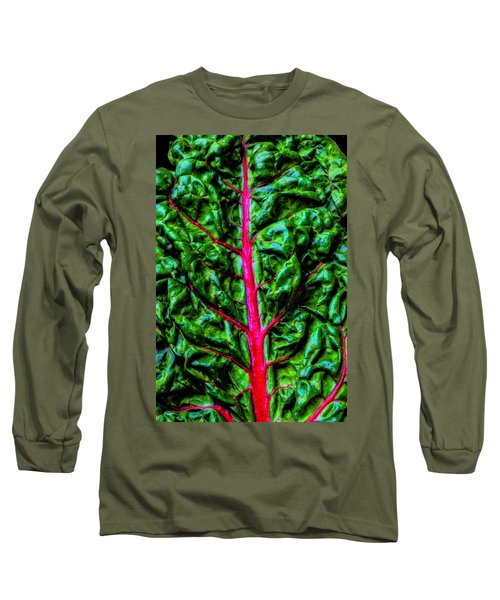 Red Chard Long Sleeve T-Shirt
