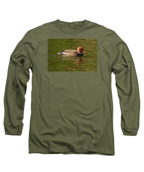 Red-crested Pochard, Netta Rufina Long Sleeve T-Shirt