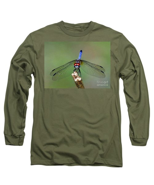 Red Eyed Dragonfly Long Sleeve T-Shirt