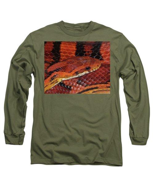 Red Eyed Snake Long Sleeve T-Shirt