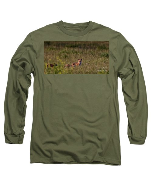 Red Fox Family Long Sleeve T-Shirt