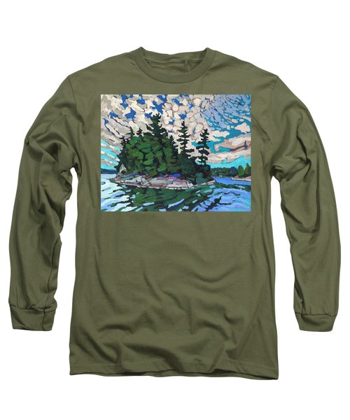 Red Horse Paradise Long Sleeve T-Shirt