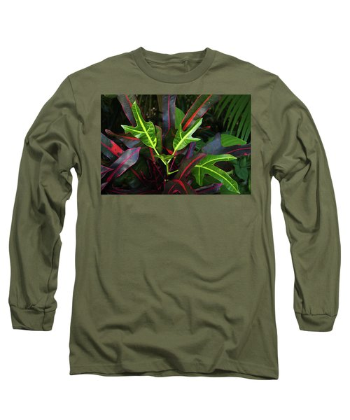 Red Hot And Green Long Sleeve T-Shirt