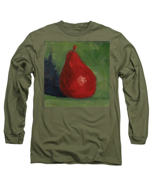 Red Pear Long Sleeve T-Shirt